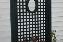 Fences, gates and outdoor areas.