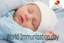 World Immunization Week / World Immunization Week – the world is celebrating  in the last week of April (24-30) - aims to promote one of the world's most powerful tools for health – the use of vaccines to protect people of all ages against disease.