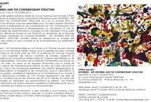 """EXPOSITION """"INFORMED, Art Informel and the Contemporary Structure"""" OPERA GALLERY / Du 2 au 31 octobre 2015, OPERA GALLERY Paris présente """"INFORMED, Art Informel and the Contemporary Structure"""" ; une exposition qui rassemble une trentaine d'œuvres remarquables explorant l'évolution de l'Art Informel d'après-guère et ses conséquence sur l'art contemporain. www.operagallery.com"""