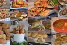 entrées salées Ramadan 2014/2015 / chaussons,bricks,salades,petits feuilletés,pizzas...toutes les entrées pour ramadan!