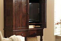 Tv Hidden Cabinet