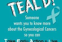 Go Teal for Ovarian Cancer Awareness