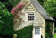 Old cottages& gardens