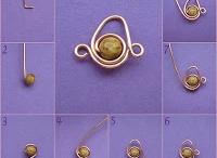 Chip Bead earrings etc etc etc / by Adrienne Coke