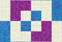 "12"" quilt block - strips"