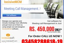 IncisiveMCM-Meeting Call Management / Amazing Software for managing your meetings in an efficient manner Price: Rs. 450,000 (Negotiable)