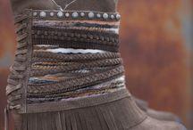 bohemian shoes/boots