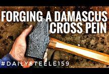 damascus hammer