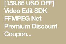 Video Edit SDK FFMPEG Net Premium