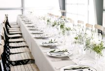 Clean Modern Table Settings