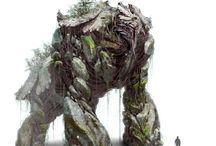 Concept Art - Monster