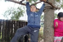Cool outdoor environments for kids
