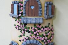 fimo house fairy / domky