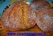 Dolci - pasticcini e piccola pasticceria / Tante ricette per fare pasticcini, pesche dolci,pesche alla crema o al caffè, bignè, muffins e tante altre ricette golose.