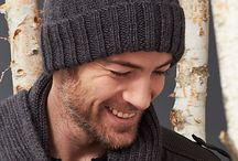 Knitted mans hat
