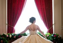 Old Hollywood Glam Bridal Session