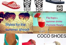 Summer hottest sandals / Summer hot shoes ! Most popular styles & colors from  Brands like Michael kors, ninewest,Ivanka trump,guess,stevemadden, skechers!