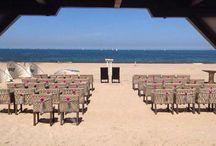Bruiloften / Millersbeach is een officiële trouwlocatie waar wij én u met trots uw gasten kan ontvangen. In een romantische strand ambiance voorzien wij u en uw gasten van een onvergetelijke dag. Of het nu gaat om een intieme gelegenheid of een volledige verzorgde trouwdag, wij staan graag voor u klaar!  Trouwen aan het strand is romantisch genieten in het zand.   Voor meer informatie: www.millersbeach.nl/trouwen