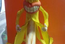 My sexy fondant banana / Fondant banana