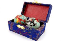 Chinese playing balls / For your health and welbeing