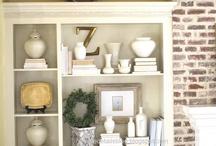 Bookshelves & vignettes / Bookshelves & vignettes / by Kim Lott