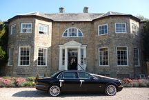 Wedding Transport / Stylish ways to arrive at Washingborough Hall in Lincoln.