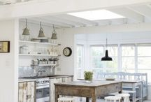 Kitchens / Gorgeous kitchens. That's it. Loads of inspiration for a full kitchen renovation.
