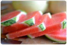 mit Obst und Gemüse mchen