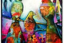 Tracy Verdugo/paint exercises