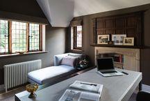 Roselind Wilson Design - Study / Study and Home Office design by luxury interior design studio Roselind Wilson Design
