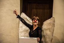 Conferenza tragicheffimera sui concetti ingannevoli dell'arte / Carullo - Minasi, 20 Luglio - Salone del Castello di Lari