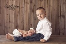 Newborn/sibling photography  / by Emily Morgan