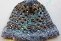 Bonnets et chapeaux / Des bonnets et des chapeaux fait main au tricot ou au crochet