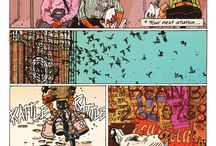 Grafity's Wall Comic, graphic novel / Grafity's wall crowdfunding now at unbound