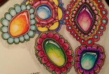 Vitruvian art-gemstones