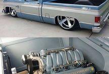 caminhões da Chevy