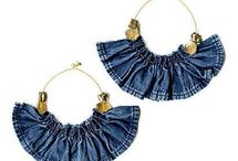 Denim jewerly