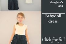 DIY clothes for my daughters