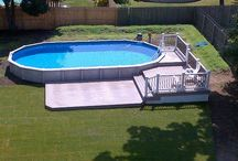 Pool deck / by Lindsay Fullwood