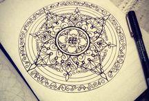 Dibujos mandalas / Dibujo Mandala