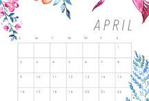 Календарь•время
