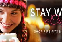 Stay warm & cozy / Shop Fire Pits and Heaters at HowardStore.com. Chill Out! Linger a little longer around the fire while family and friends alike bask in the warmth and glow of your new fire pit.