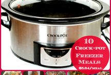 Crockpots and Freezers - Cooking Easier / by Lois Barrie