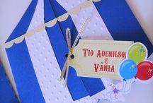 Balão Azul / Conviteria