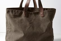 Waxed canvas projects