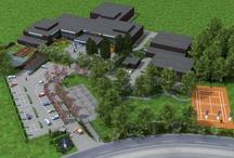 Visualisaties Kadinsky College/tuinterras