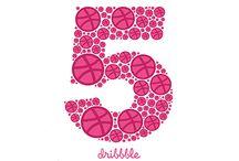 Dribbble / Happy 5 year b-day Dribbble