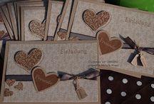 Card / Box - Einladungen....
