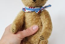 Vintage bears / Just love old handmade bears!