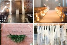 Industrial Chic / Chic, Modern, Romantic Weddings with an Industrial feel using wood and metals.